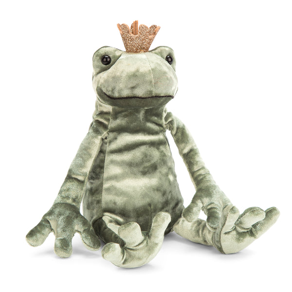 Frog Prince Kiss Stuffed Animal, 10 inches