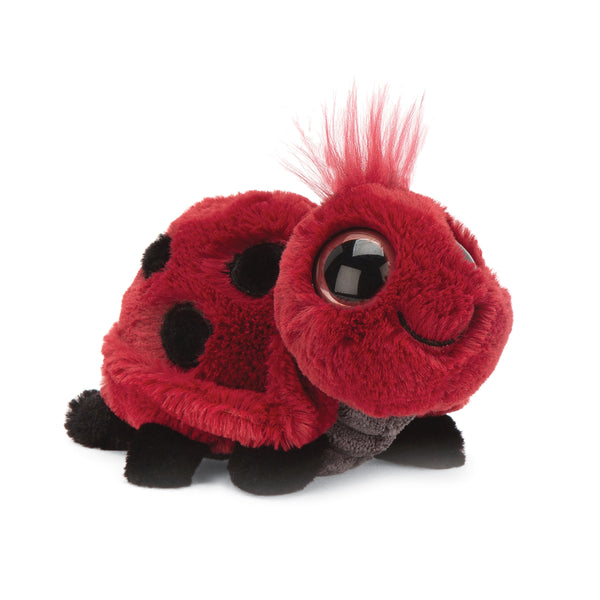Frizzles Ladybug Stuffed Animal, 3 inches tall