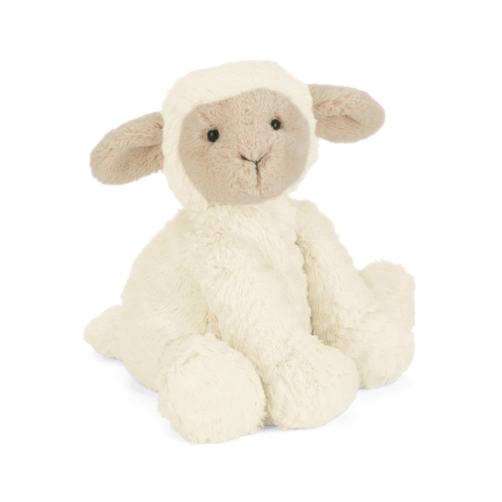 Fuddlewuddle Lamb Stuffed Animal, Medium, 9 inches
