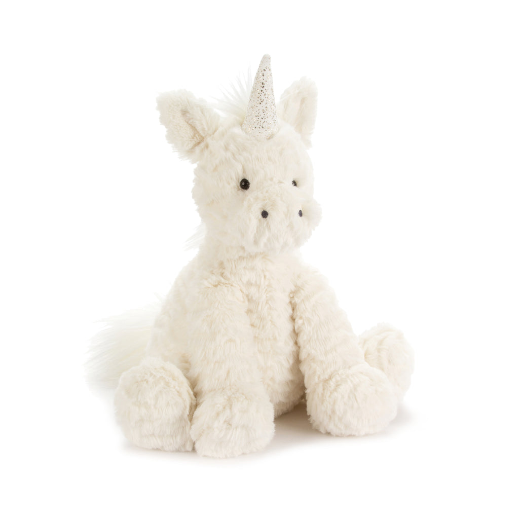 Fuddlewuddle Unicorn Stuffed Animal, Medium, 9 inches