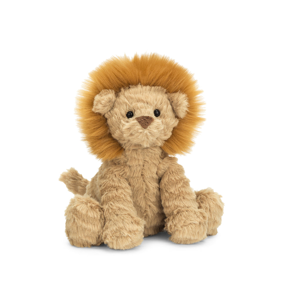 Fuddlewuddle Lion Stuffed Animal, Baby, 5 inches