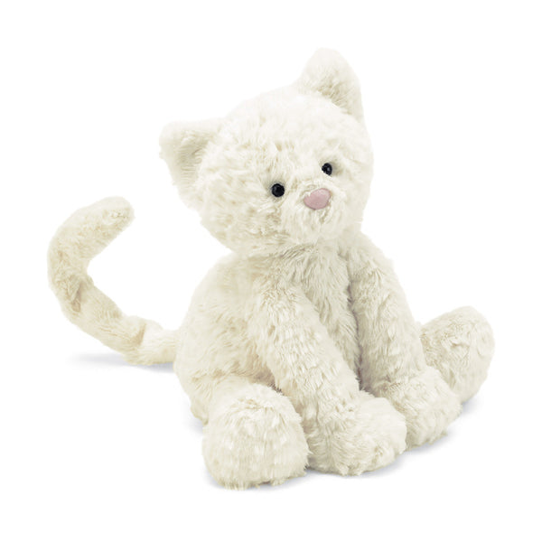 Fuddlewuddle Kitten Stuffed Animal, Medium, 9 inches