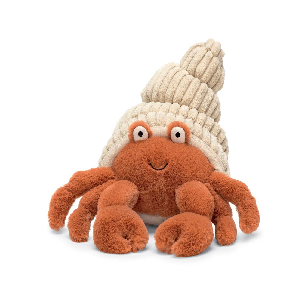 Herman Hermit Crab Stuffed Animal, 14 inches