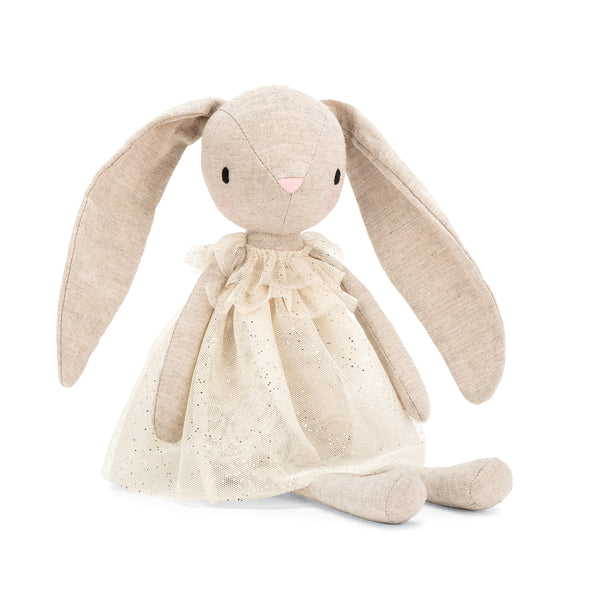 Jolie Bunny Stuffed Animal, 12 inches