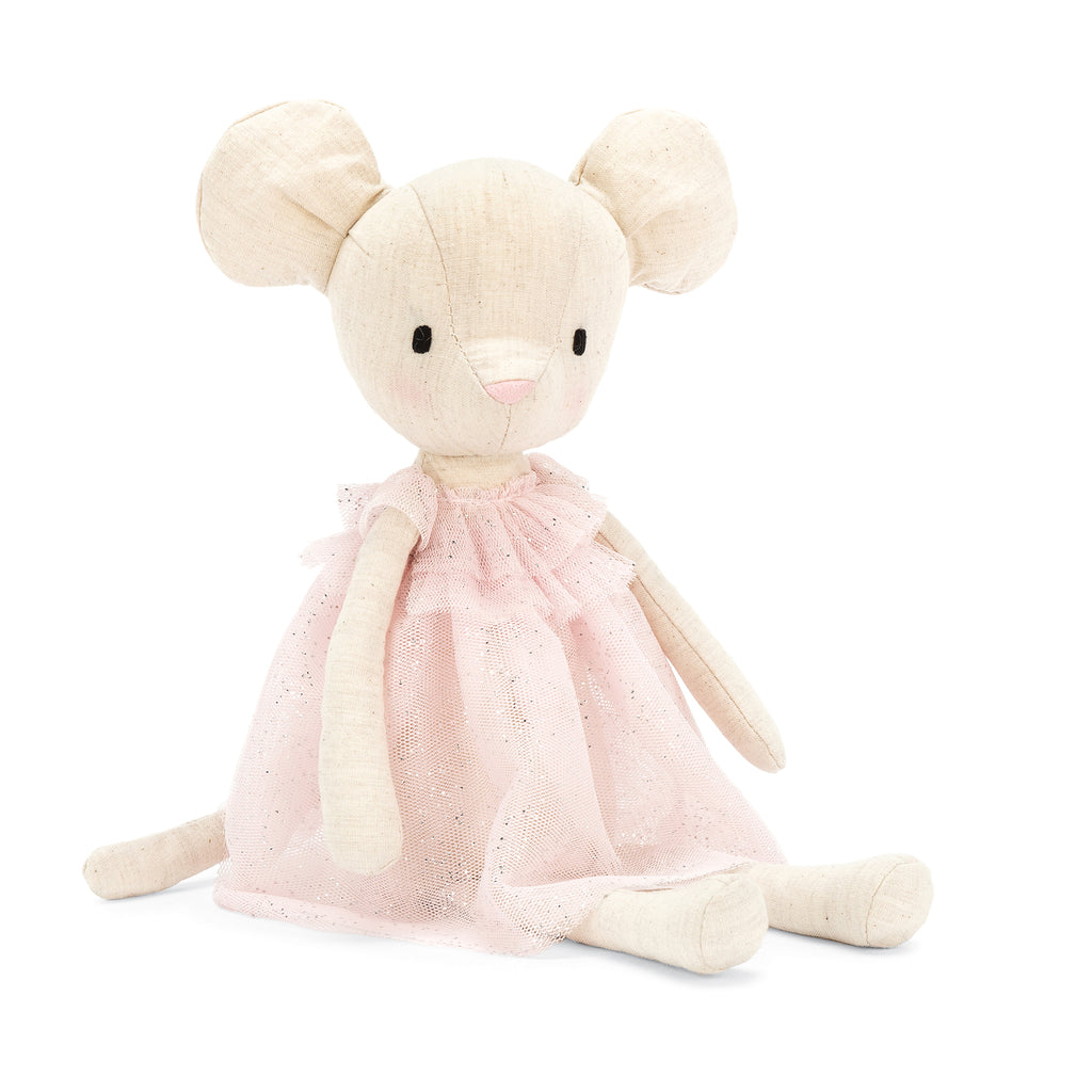 Jolie Mouse Stuffed Animal, 12 inches