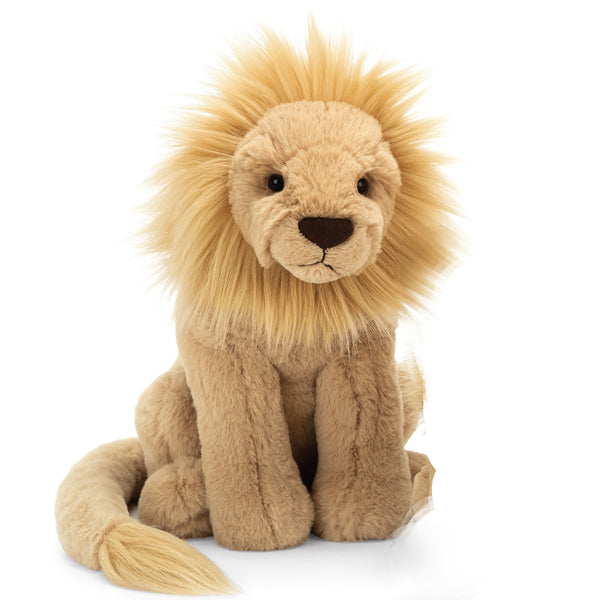 Leonardo Lion Stuffed Animal, Large, 15 inches