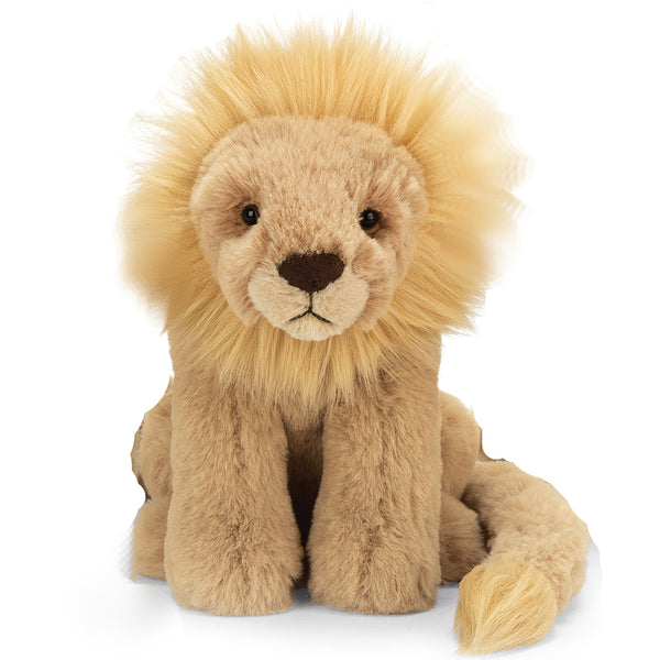 Leonardo Lion Stuffed Animal, Medium, 11 inches