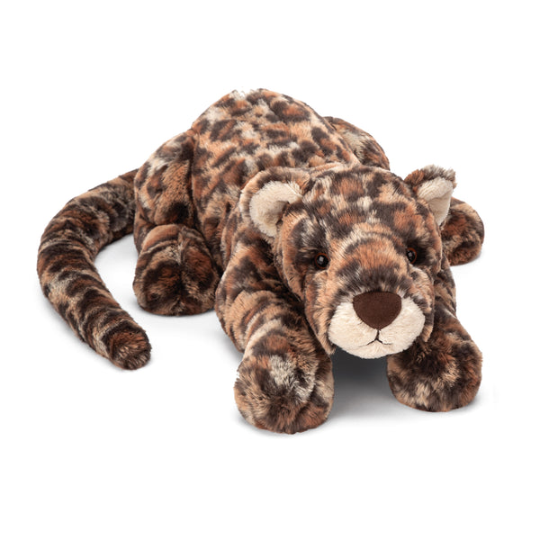 Livi Leopard Stuffed Animal, Medium, 19 inches