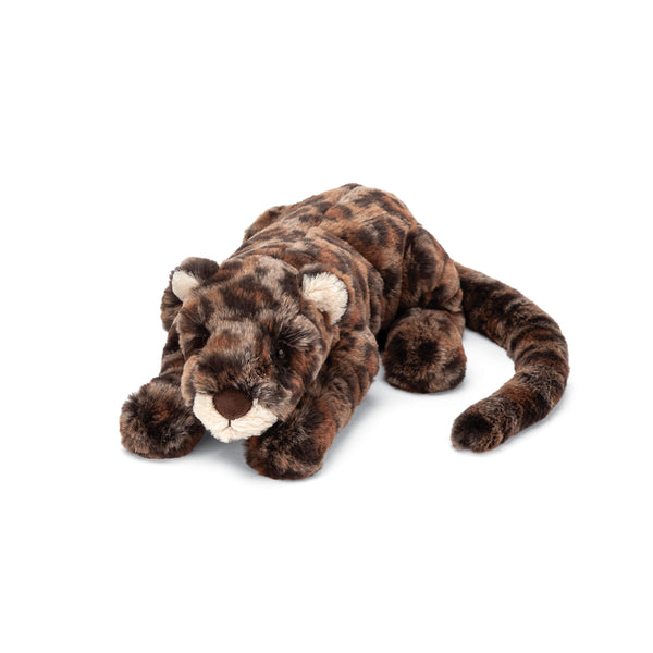 Livi Leopard Stuffed Animal, Little, 10 inches
