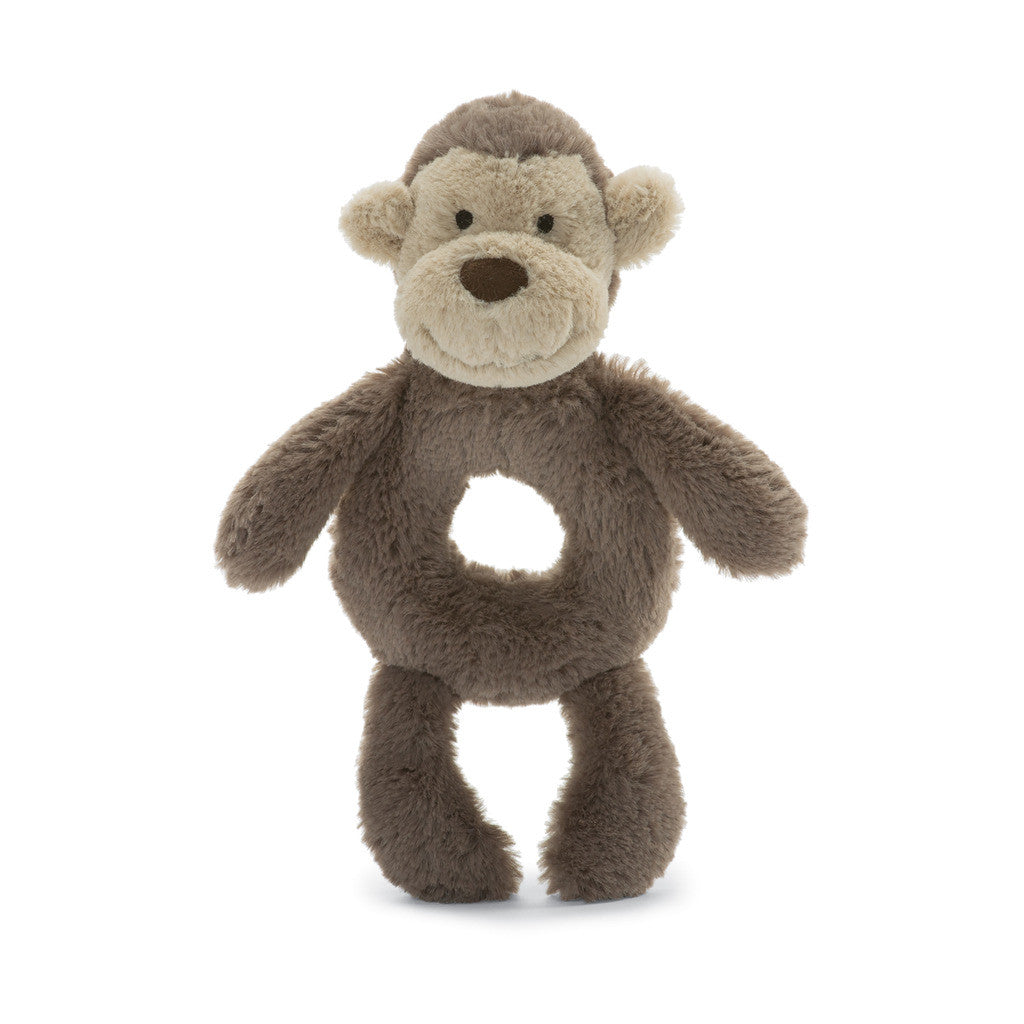 Bashful Monkey Ring Rattle