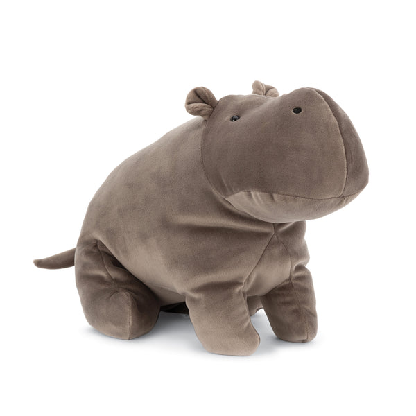 Mellow Mallow Hippo Stuffed Animal, 15 inches