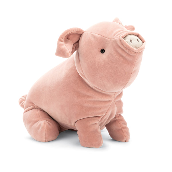 Mellow Mallow Pig Stuffed Animal, 15 inches