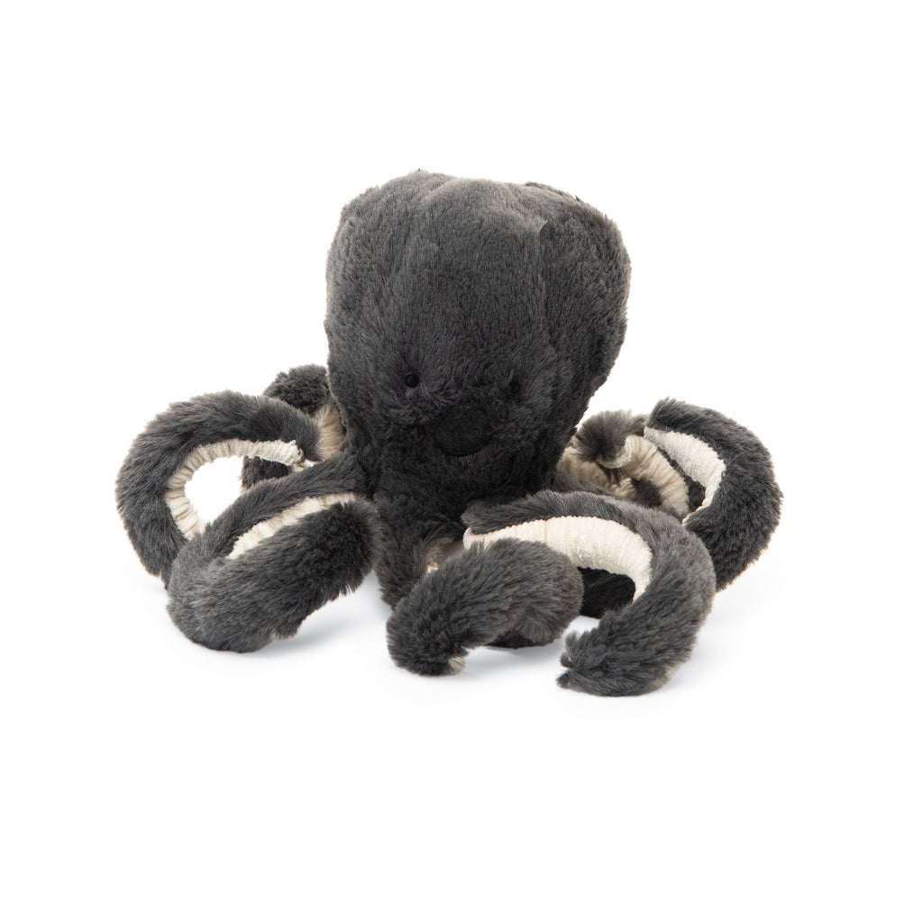 Inky Octopus Stuffed Animal, Baby, 7 inches