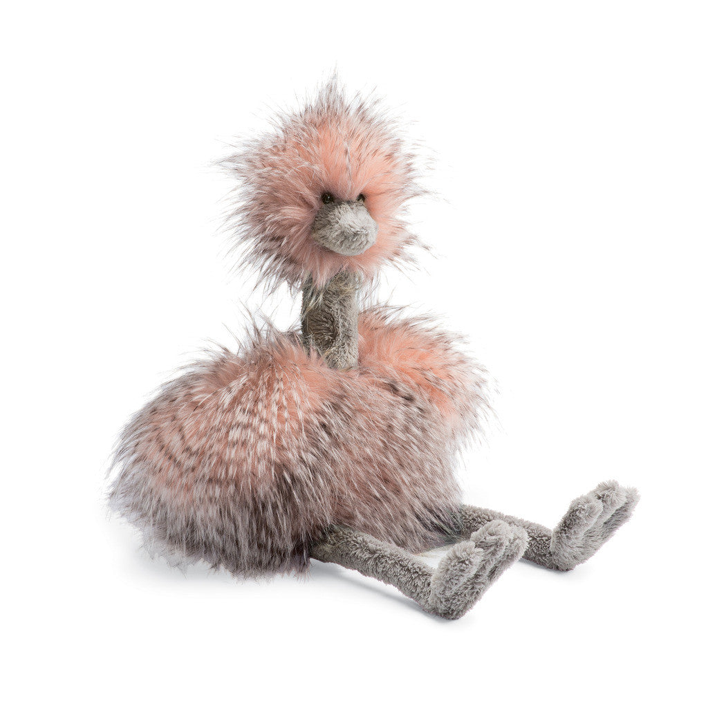 Mad Pet Odette Ostrich - 20 inches