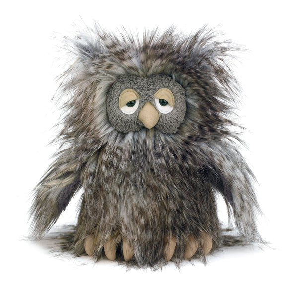 Mad Pet Orlando Owl Stuffed Animal, 9 inches