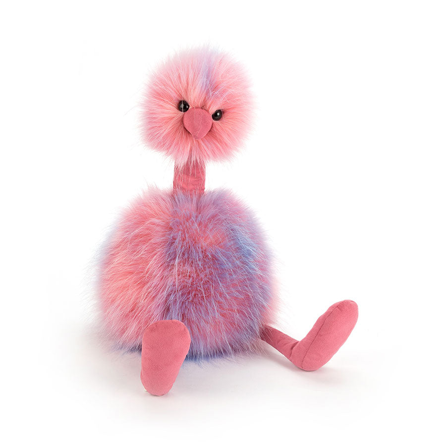 Cotton Candy Pom Pom Stuffed Animal, Large, 21 inches