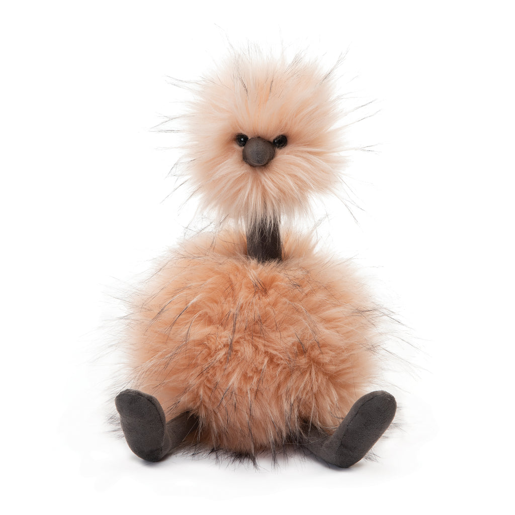 Just Peachy Pom Pom Stuffed Animal, Large, 21 inches
