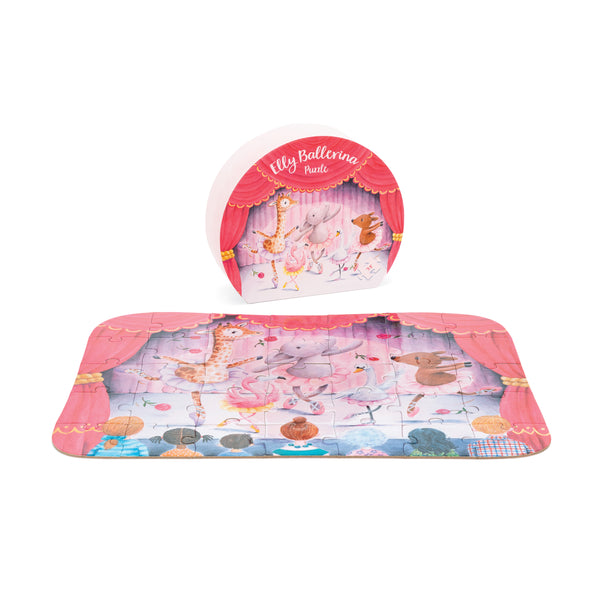 Elly Elephant Ballerina Puzzle for Toddlers