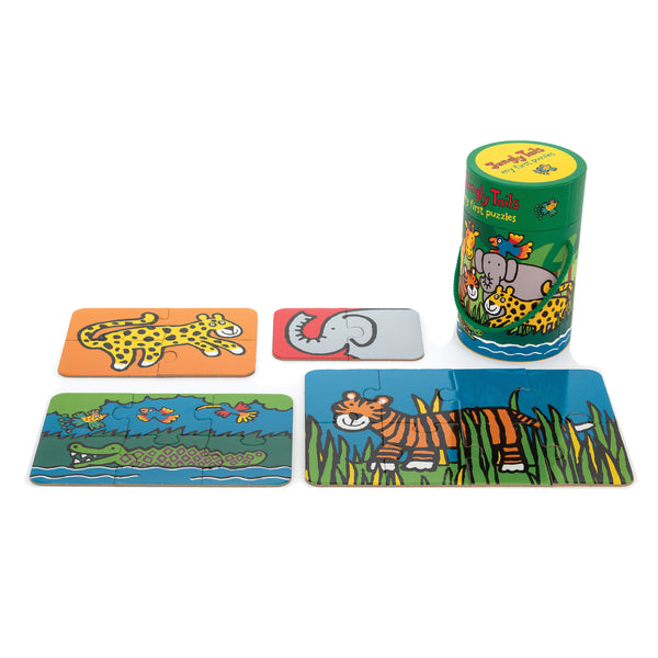 Jungly Tails 4 in 1 Puzzles for Toddlers