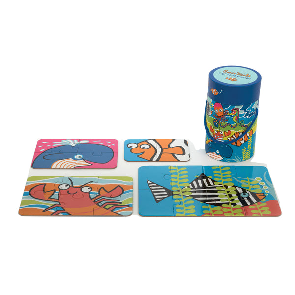 Sea Tails 4 in 1 Puzzles for Toddlers
