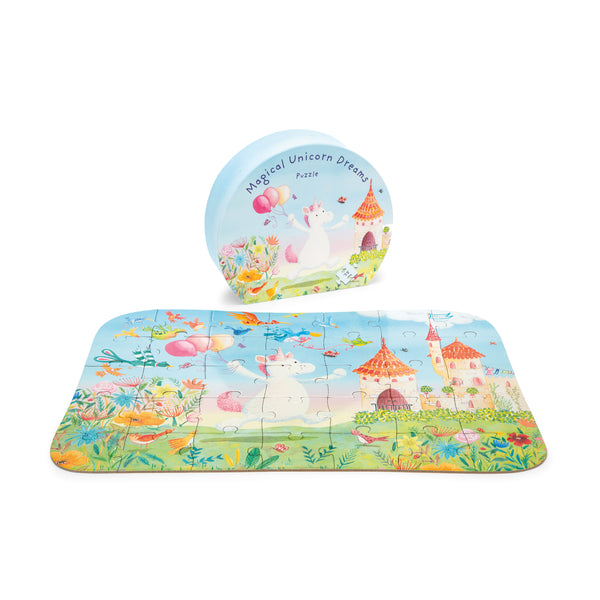 Magical Unicorn Dreams Puzzle for Kids
