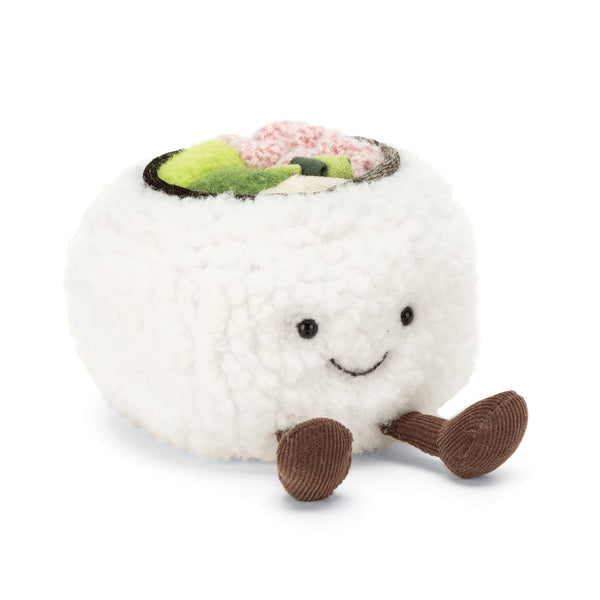 Silly Sushi California Plush, 4 inches