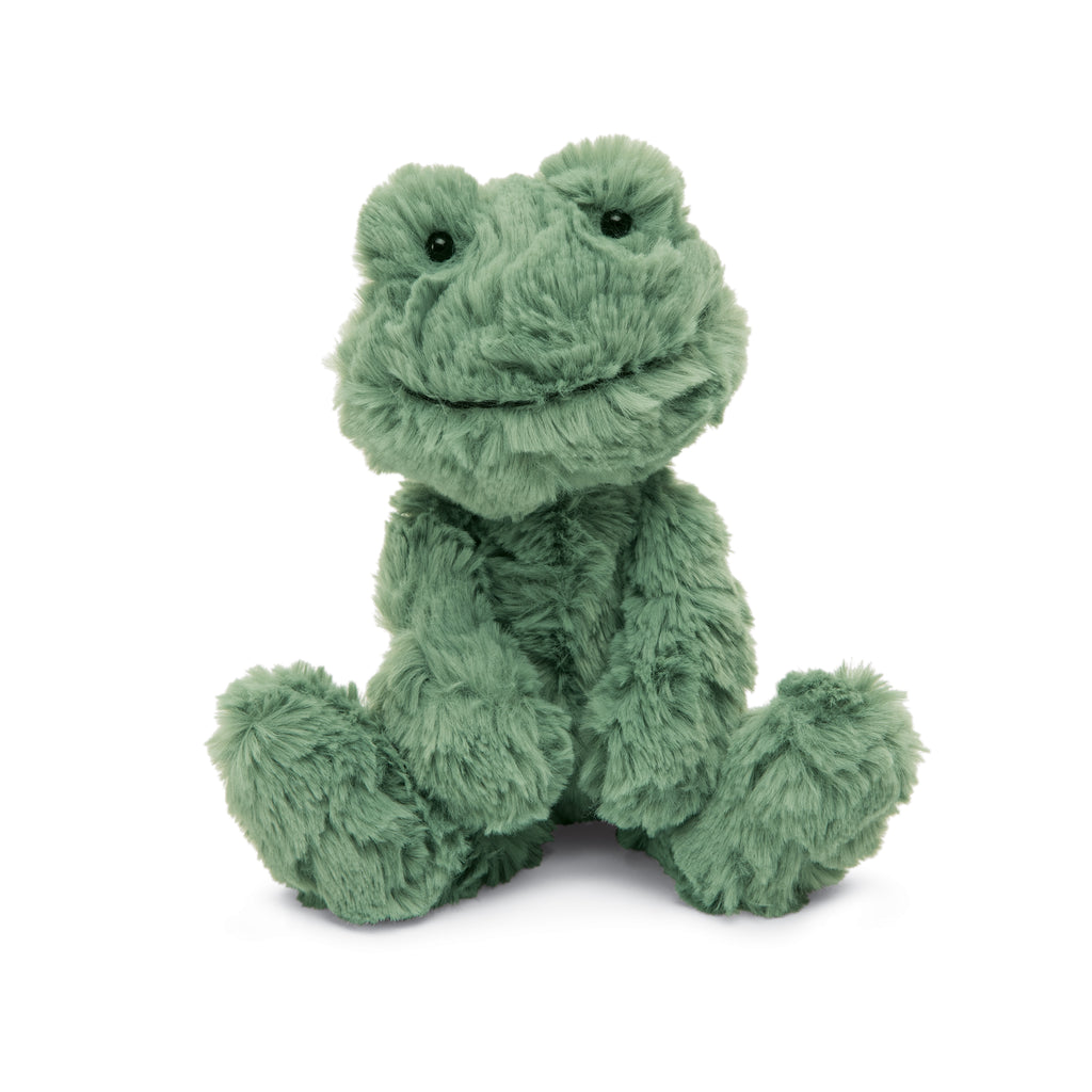 Squiggle Frog Stuffed Animal, Small, 9 inches