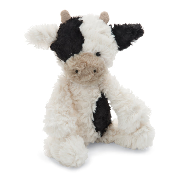 Squiggle Calf Stuffed Animal, Small, 9 inches