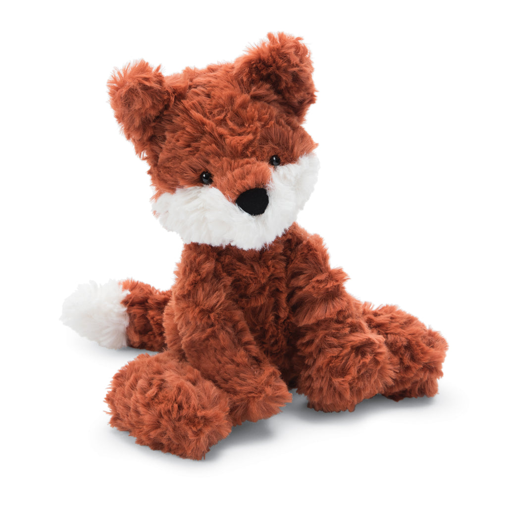 Squiggle Fox Stuffed Animal, Small, 9 inches