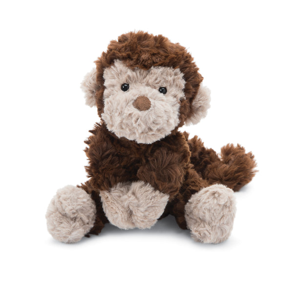 Squiggle Monkey Stuffed Animal, Small, 9 inches