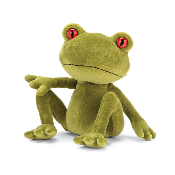 Tad Tree Frog Stuffed Animal, Medium