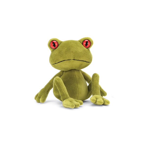Tad Tree Frog Stuffed Animal, Little, 6 inches