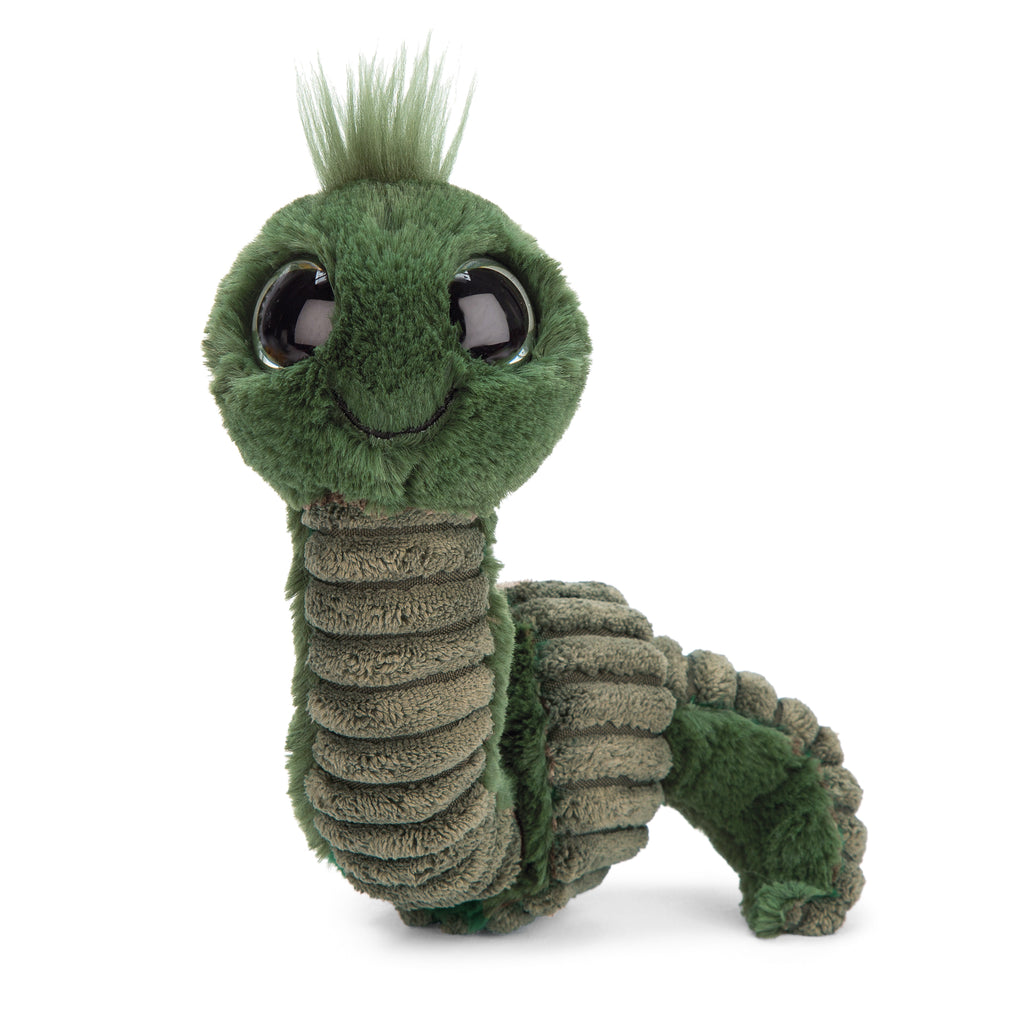 Wiggly Worm Stuffed Animal, Green, 12 inches