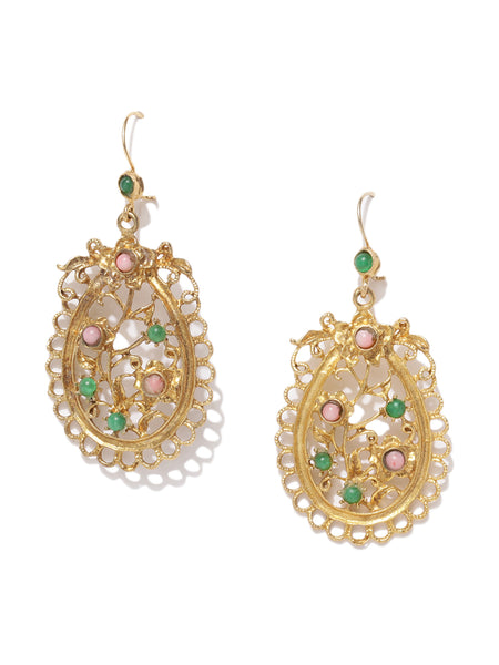 Quartz Filigree Daintee Earings
