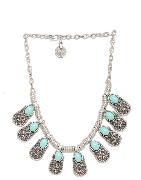 Silver Plated Matinee Necklace