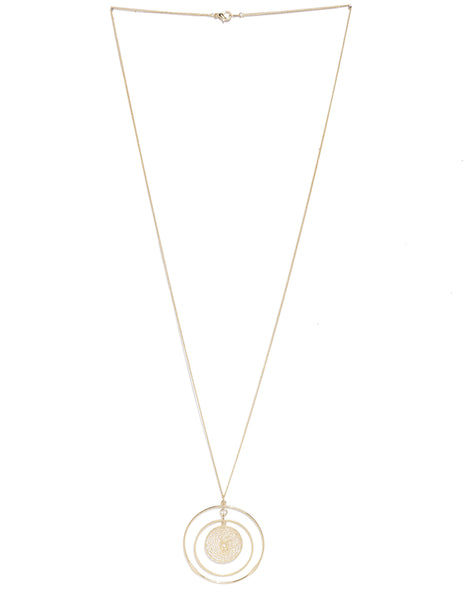 Gold Plated Delicate Pendant Necklace