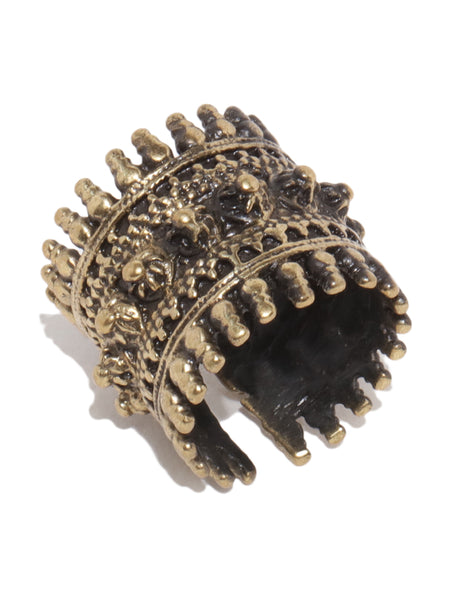 Antique Bronze Queen Ring