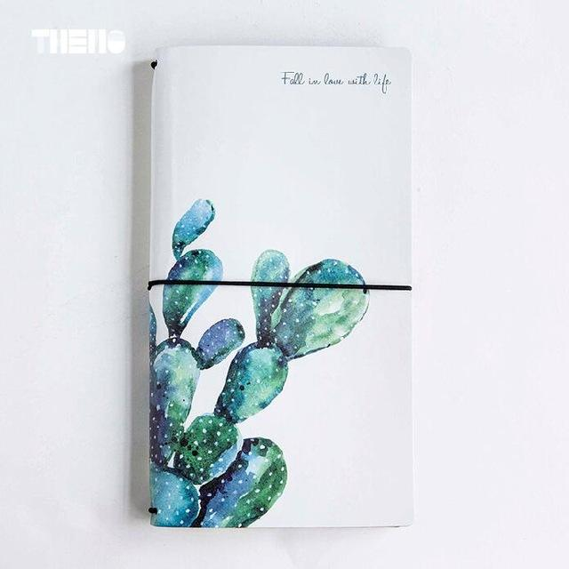 Watercolor/Leather Botanical Journals