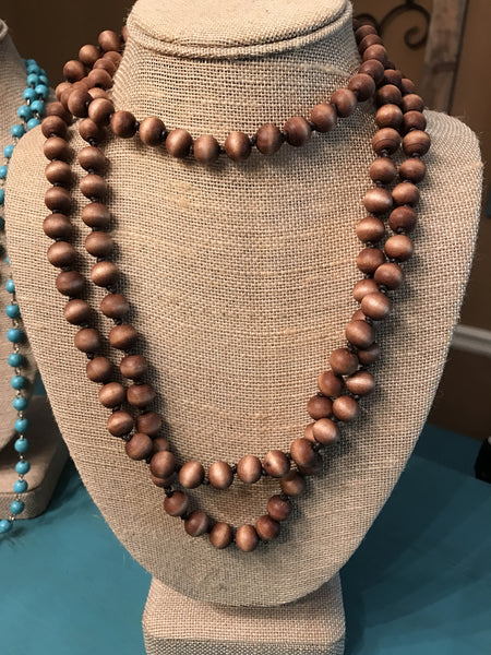 Natural Wrap Necklace