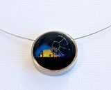 Constellation Small Round Necklace