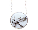 Jackrabbit Medium Round Necklace