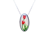 Tulip Oval Necklace