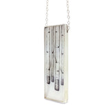 Birch Forest Vertical Bar Necklace