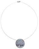 Birch Forest Large Round Necklace