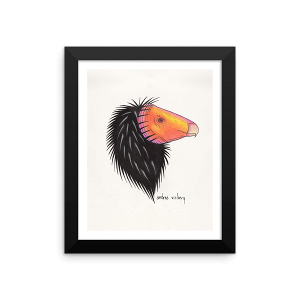California Condor Framed Print 8x10