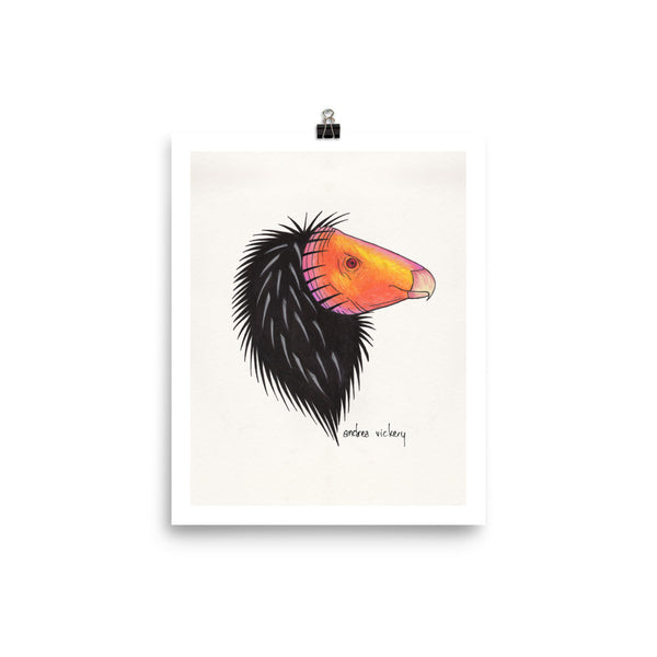 California Condor Sketch Print 8 x 10