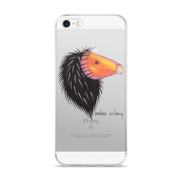 California Condor iPhone 5/5s/Se, 6/6s, 6/6s Plus Case