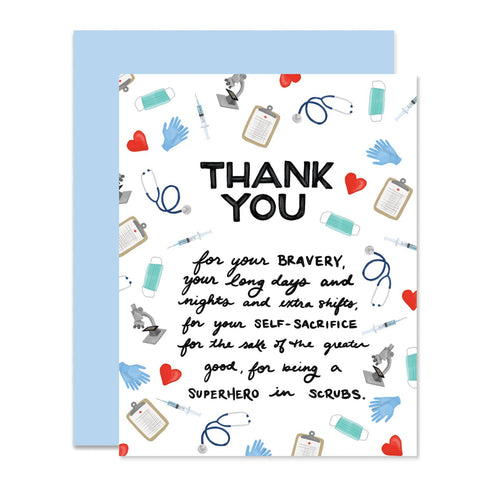 Medical Professional Gratitude Card