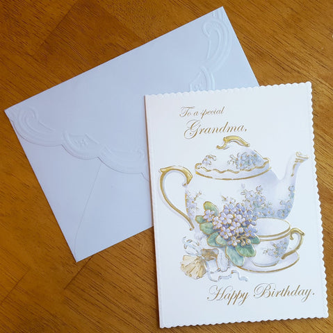 Card - To a Special Grandma, Happy Birthday