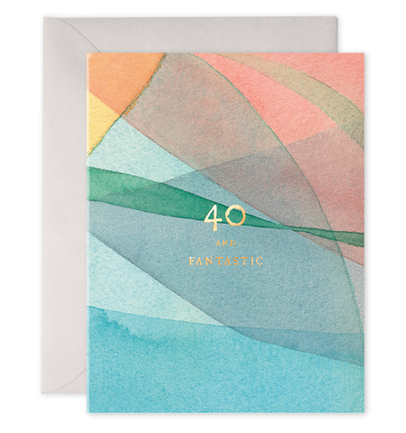 Birthday Card - Milestone 40 50 or 60